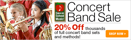 Concert Band Sale