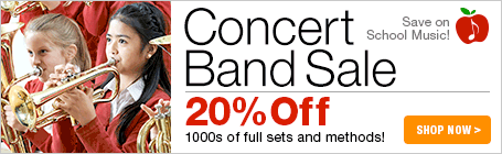 Concert Band Music Sale