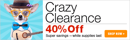 Crazy Clearance Sale