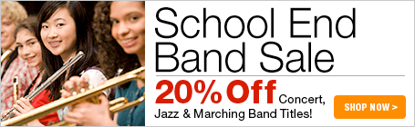 School End Band Music Sale
