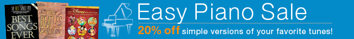 Easy Piano Sheet Music on Sale