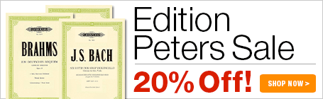 20% Off Edition Peters Music