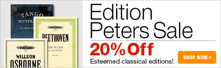 Edition Peters Sale