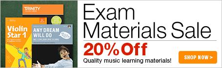 Music Exam Materials Sale