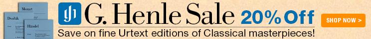 G. Henle Sale
