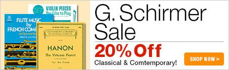G. Schirmer Music Sale