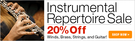 Instrumental Repertoire Sale