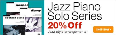Jazz Piano Solos Series Music Sale