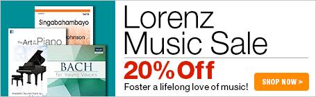 Lorenz Publishing Sale