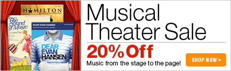 Musical Theater Sheet Music Sale