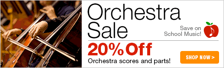 Orchestra Music Sale