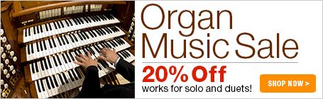Organ Music Sale