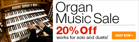 Organ Music Sale