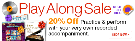 Save 20% and play along with your very own recorded accompaniment.