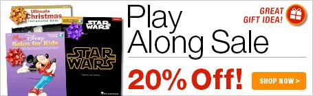 20% Off Play Alongs
