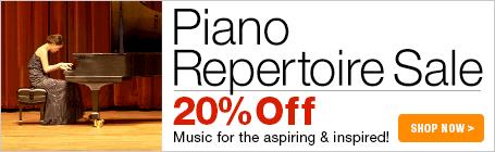Piano Repertoire Sale