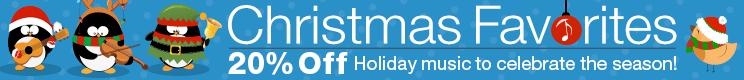 20% Off Christmas Favorites Sheet Music