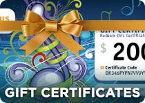 Gifts Certificates at Sheet Music Plus