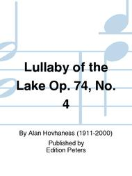 Lullaby of the Lake Op. 74 No. 4