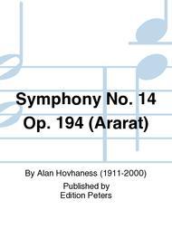 Symphony No. 14 Op. 194 (Ararat)