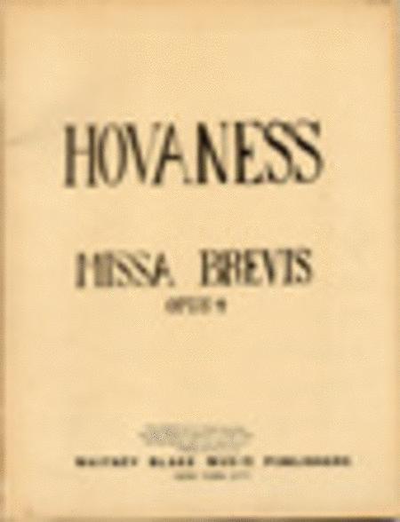 Missa Brevis Op. 4