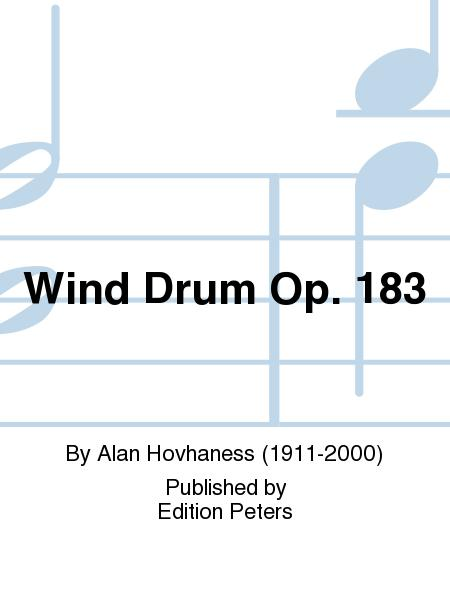 Wind Drum Op. 183