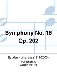 Symphony No. 16 Op. 202