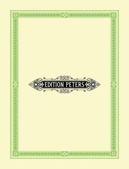 4 Songs for Women's Chorus Op. 17