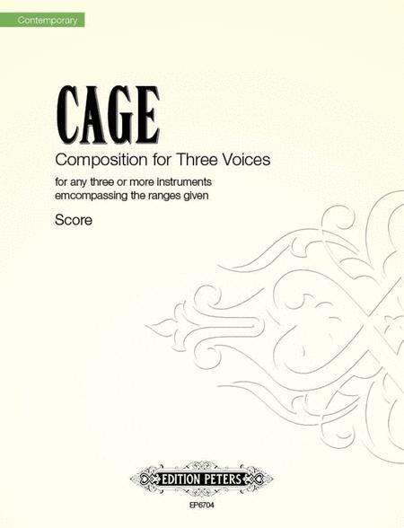 Composition for Three Voices