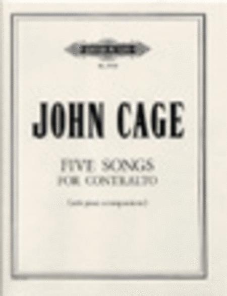 Five Songs for Contralto