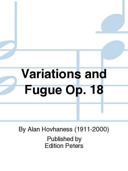 Variations and Fugue Op. 18