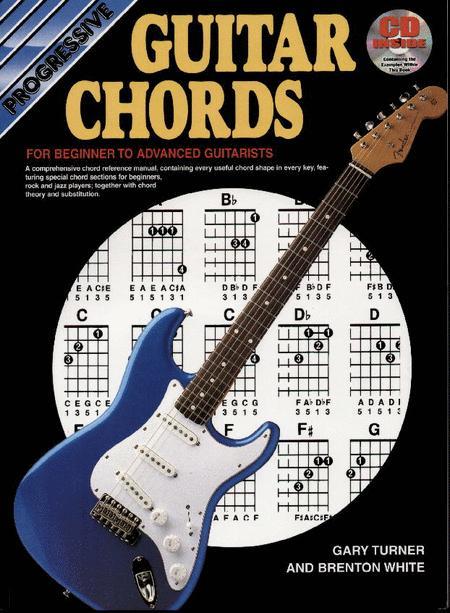 Progressive Guitar Chords Bookcddvd Sheet Music By Gary Turner
