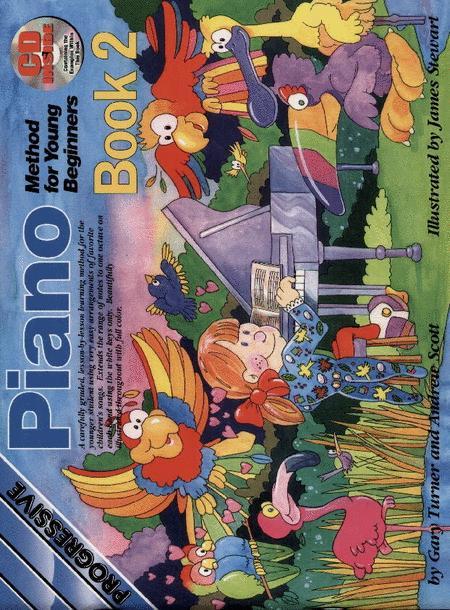 Progressive Young Beginner Piano Method Book 2 (Book/CD)