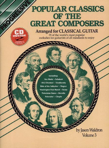 Progressive Popular Classics Volume 3 (Book/CD)