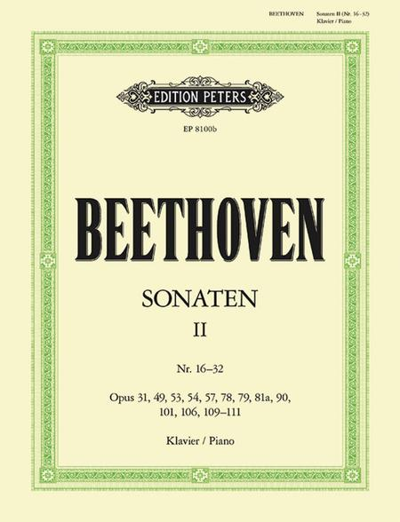 Piano Sonatas, Volume 2
