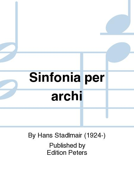 Sinfonia per archi