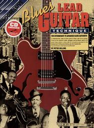 Progressive Blues Lead Guitar Technique (Book/CD)