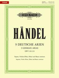 9 German Arias HWV 202-210