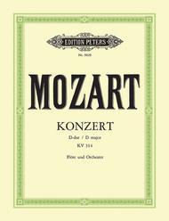 Flute Concerto No. 2 in D with Cadenzas K.314