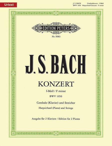 Piano Concerto In F Minor, BWV 1056