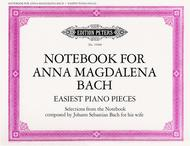 Notebook For Anna Magdalena Bach - Selected Easiest Piano Pieces