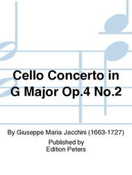 Cello Concerto in G Major Op. 4 No. 2