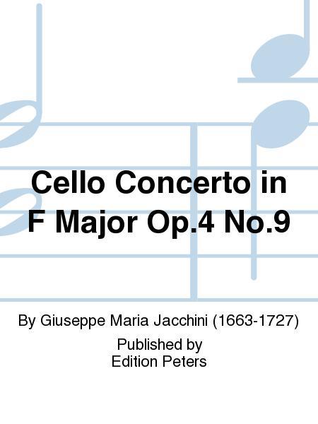 Cello Concerto in F Major Op. 4 No. 9