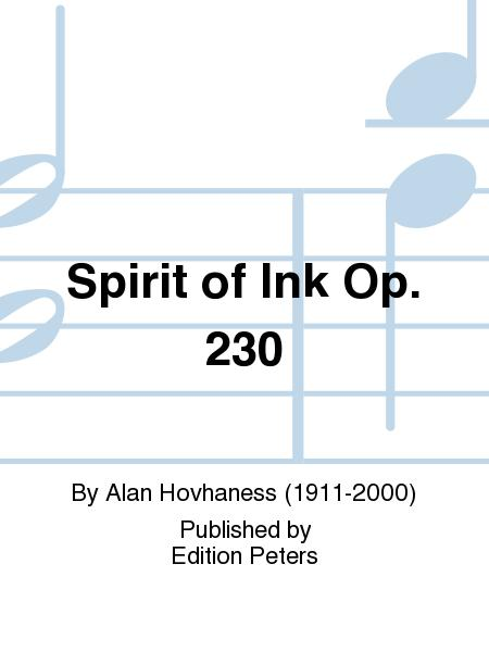 Spirit of Ink Op. 230