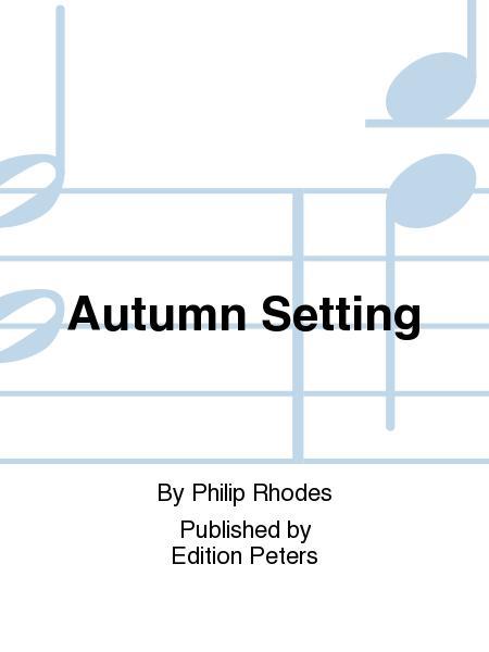 Autumn Setting