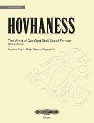 The Word of Our God Shall Stand Forever Op. 246, No. 2