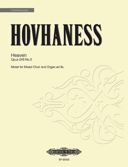 Heaven Op. 246 No. 3