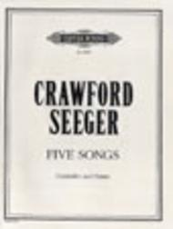 Five Songs for Contralto and Piano