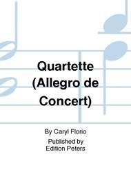 Quartette (Allegro de Concert)