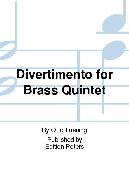 Divertimento for Brass Quintet
